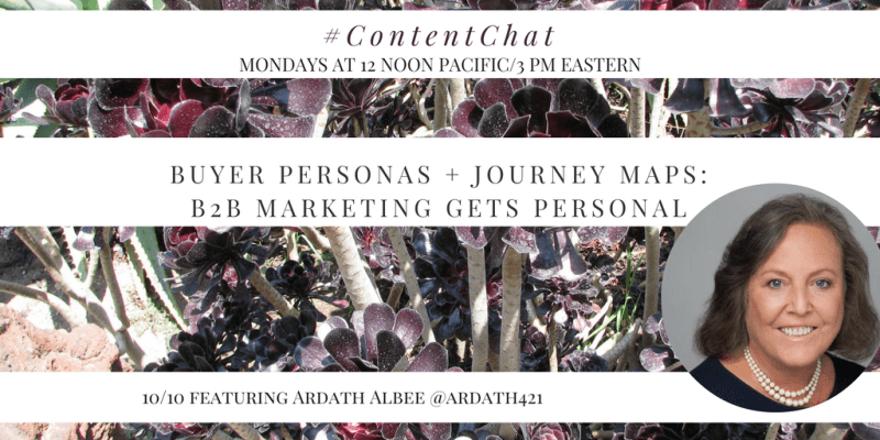Ardath Albee Content Chat