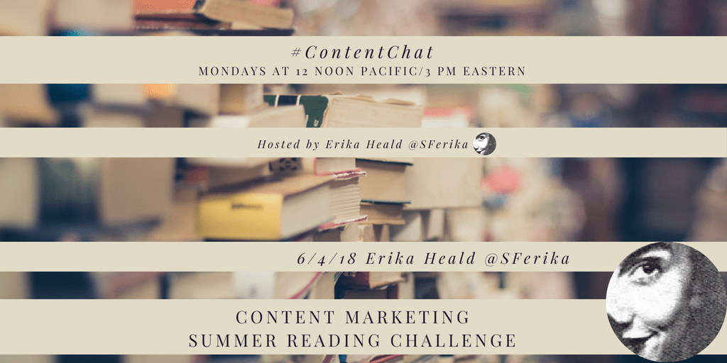 Content Marketing Summer Reading Challenge #ContentChat
