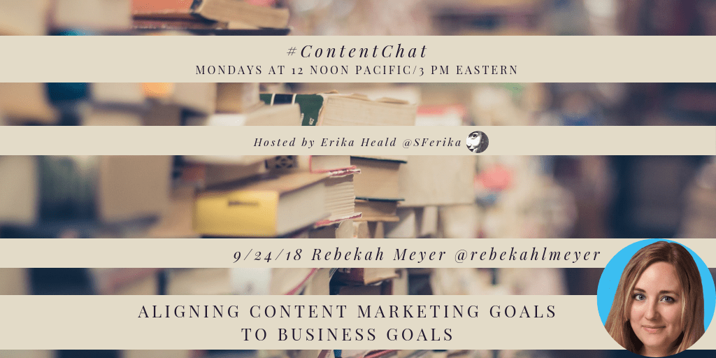 Aligning content marketing goals with business goals