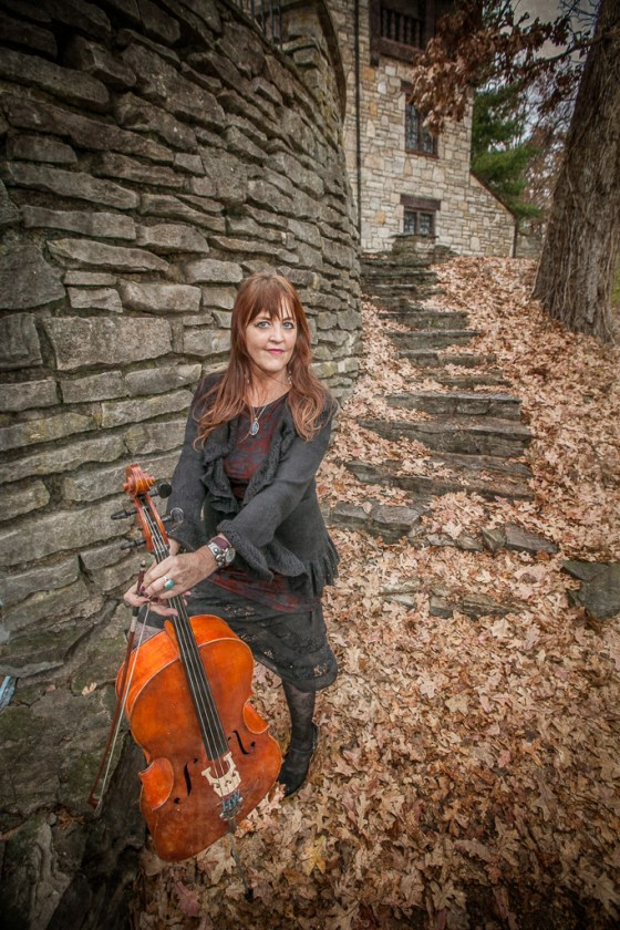 erika may and her cello