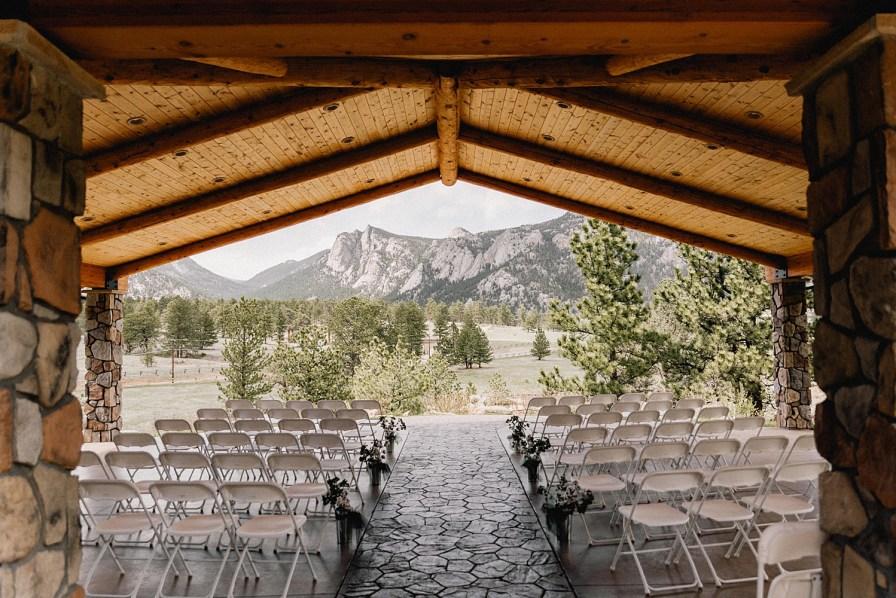 Black canyon inn wedding ceremony site