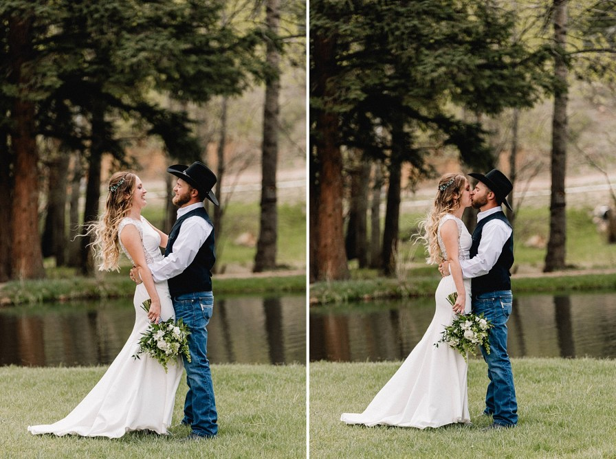 Black canyon inn wedding during the month of may