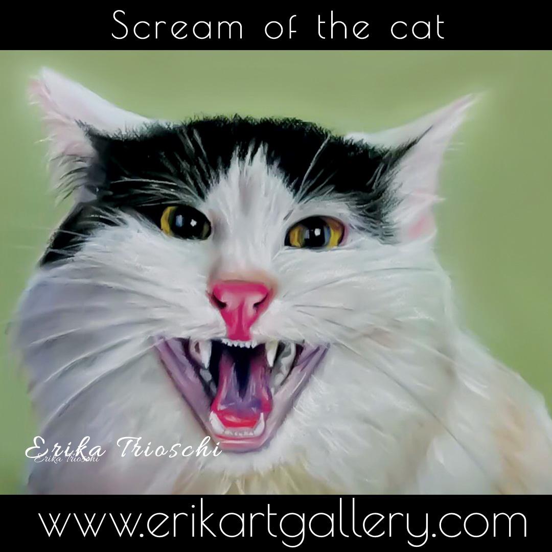 www.erikartgallery - Screan of the Cat