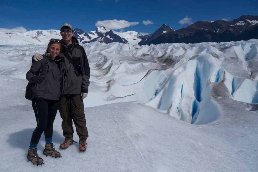 Ice Trekking in Patagonia with Dan