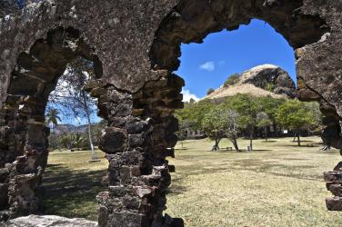 Ruins on Pigeon Island