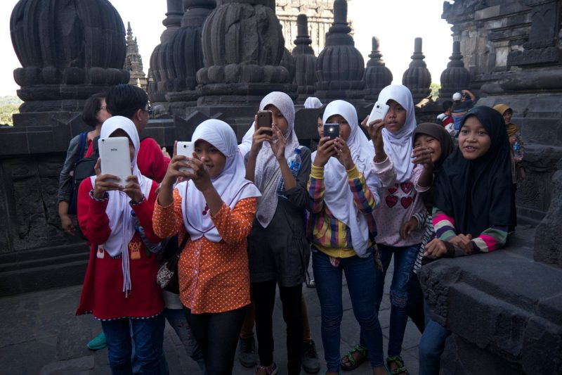 Local Schoolchildren in Indonesia