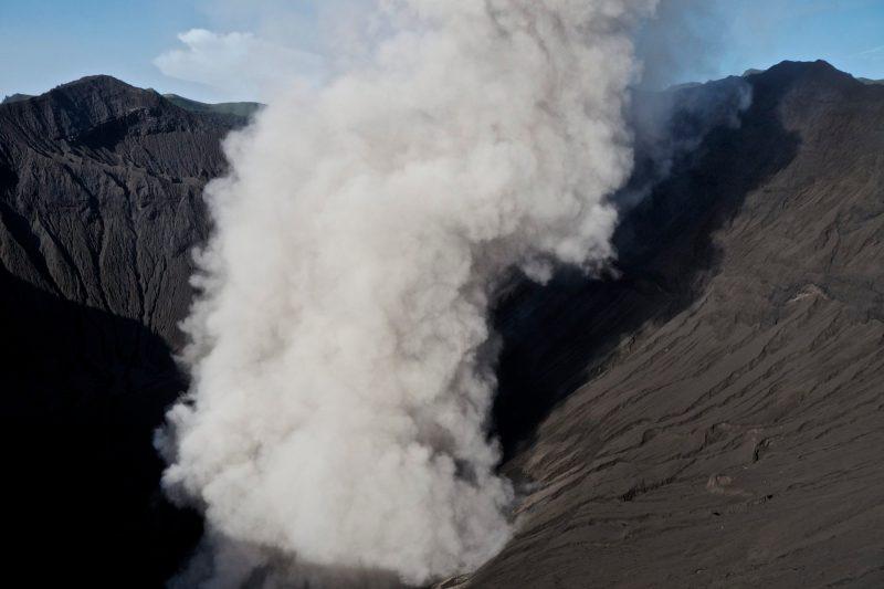 Mount Bromo Sunrise Tour, Erupting Volcano