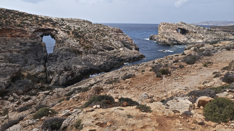 natural-arches-comino-malta