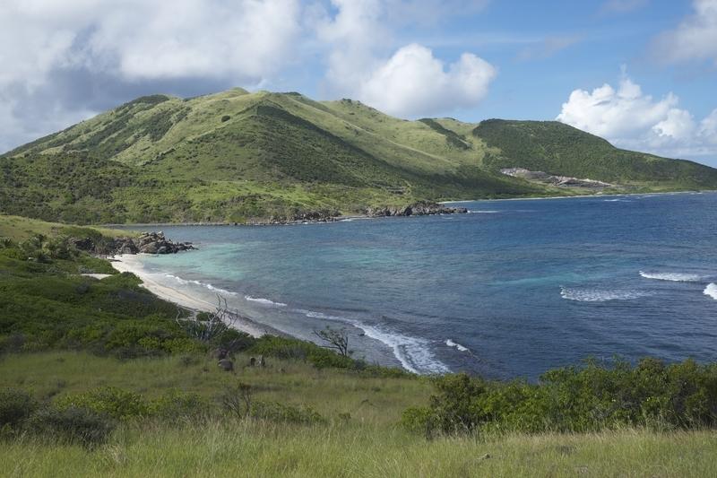 Secret Beach at Pinel Island
