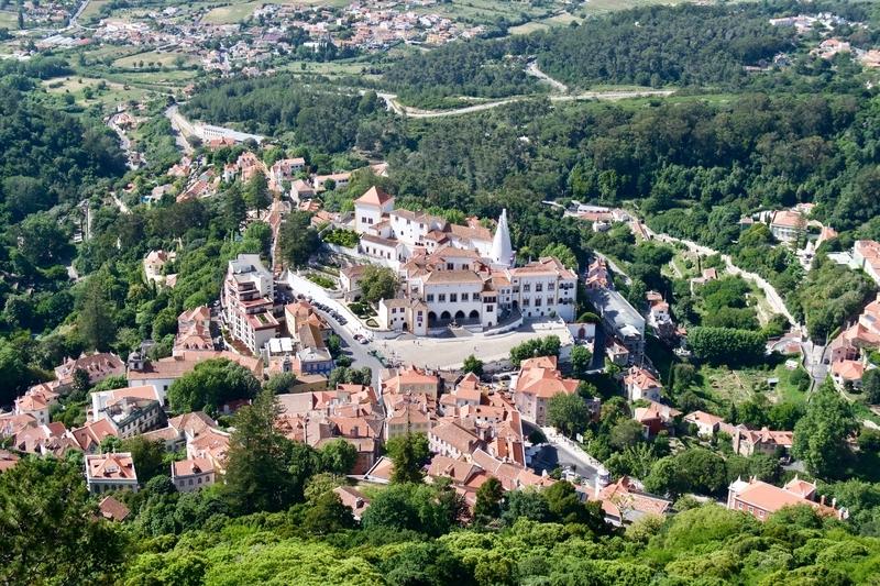 Fairy tale city of Sintra