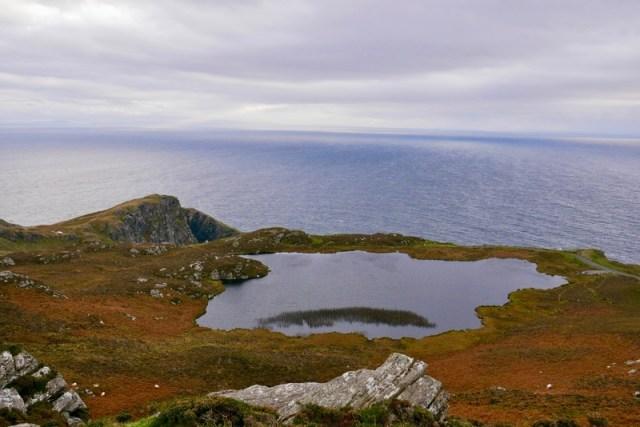 Coastline along the Wild Atlantic Way Route