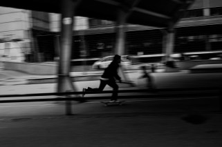 Street, Street life, Street Photography, Sharpness is a Bourgeoise Concept, unfocus, blur, blurred, Fuji, Fujifilm,