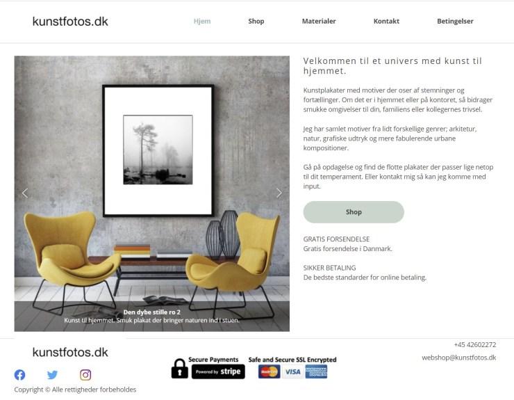 Køb kunstplakater ved kunstfotos.dk