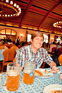 Fun at the Hofbrauhaus