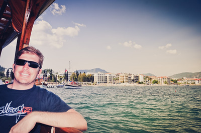 Marmaris from the bay (click for more pictures)