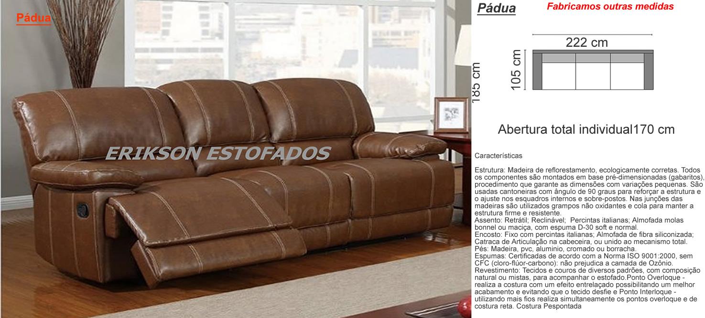 Sofa Chaise 4 Lugares