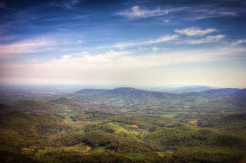 View from Shenandoah National Park