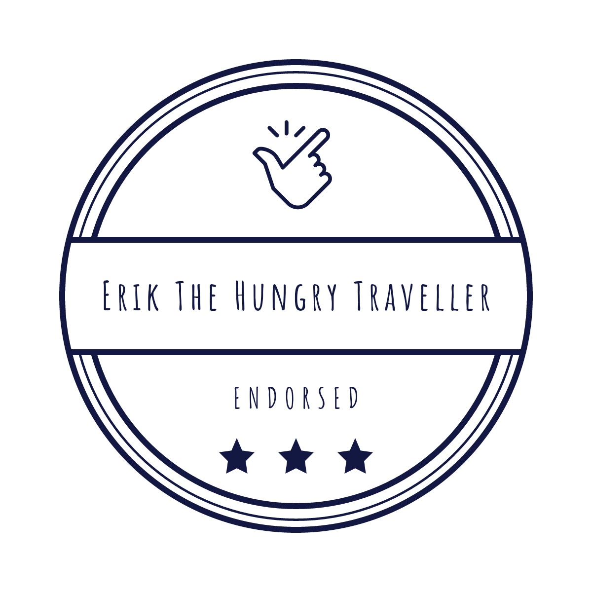 Endorsed by Erik the Hungry Traveller