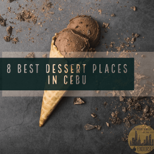 Best Dessert Places in Cebu : Erik the Hungry Traveller