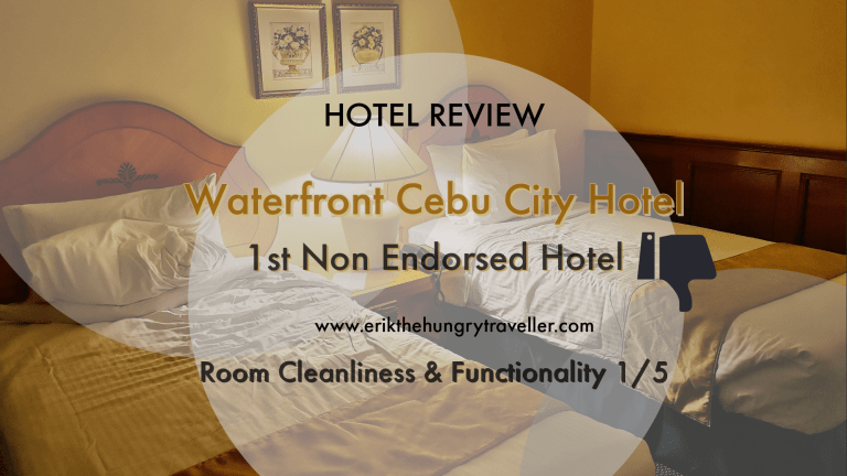 Waterfront Cebu City Hotel : 1st Non Endorsed Hotel in Cebu