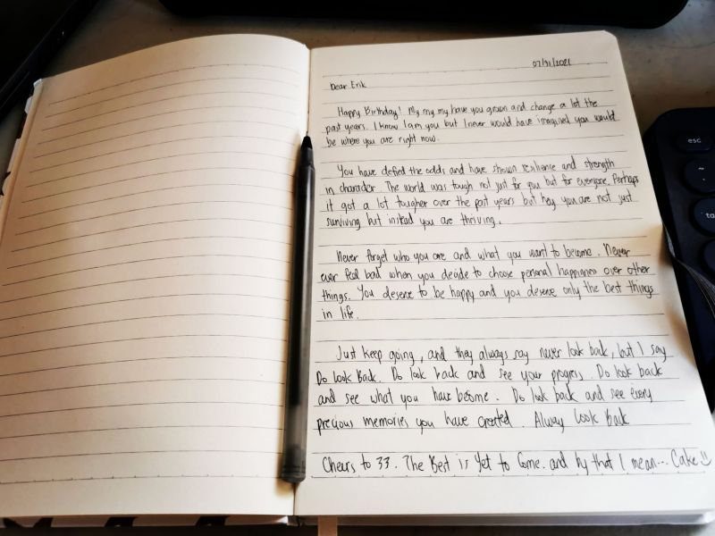 A Letter to Self