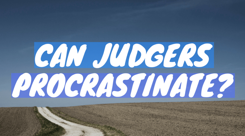 stereotypes about judgers and perceivers