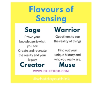 Flavours of Sensing Types