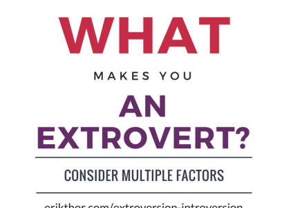 Extroverts and Introverts: Which types are the most and least extroverted?