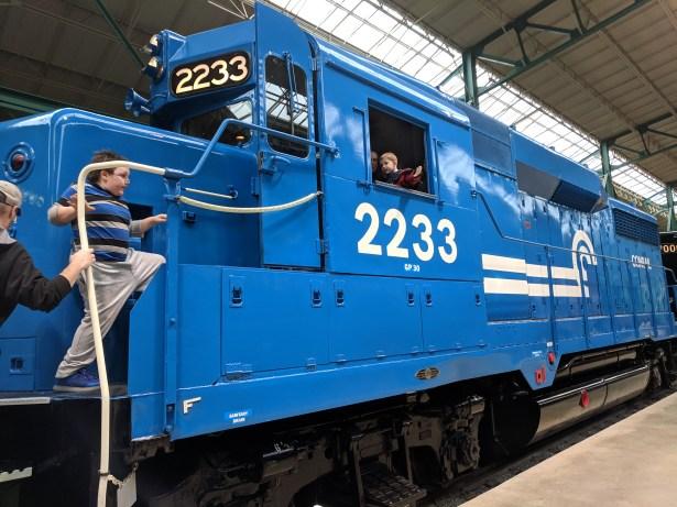 Pa train museum 2019