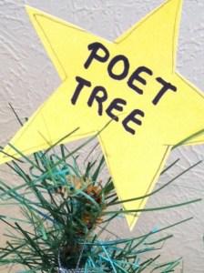 Holiday Poet Tree
