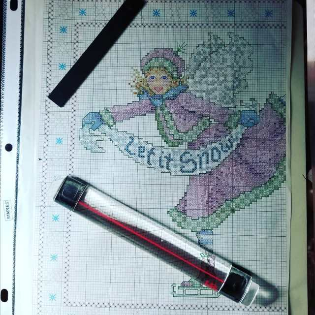 Ready to start my new crosstitch project! I made thishellip
