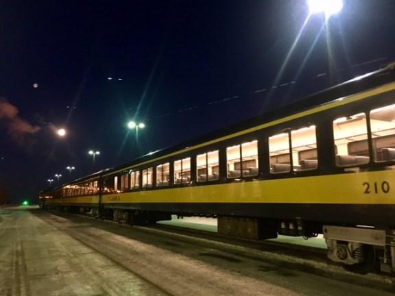 Alaska Railroad Hurricane Train