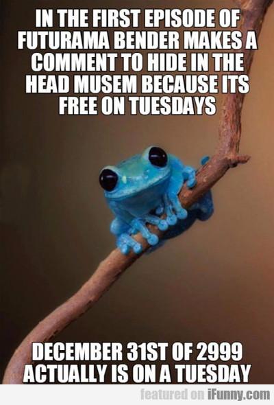 Frog checks details