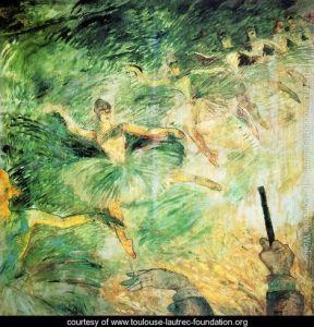 Ballet Dancers by Henri de Toulouse-Lautrec