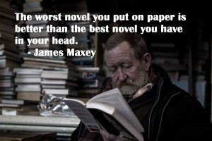Quote from James Maxey