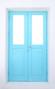 Blue Door Stock Art