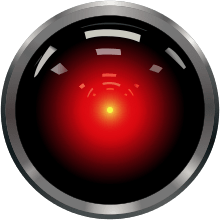 Hal's Eye from 2001: a Space Odyssey