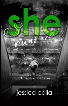 She Runs Away, front cover
