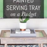 Easy Diy Painted Serving Tray On A Budget Erin Spain