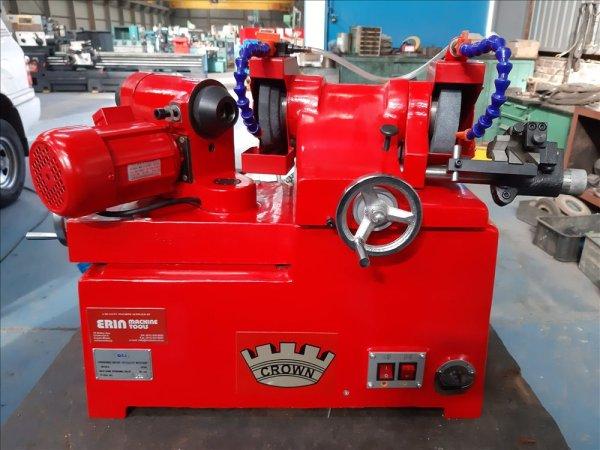 CROWN manual valve grinding machine.