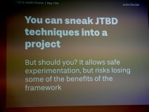 The JTBD switch interview style was incorporated into the research field guide
