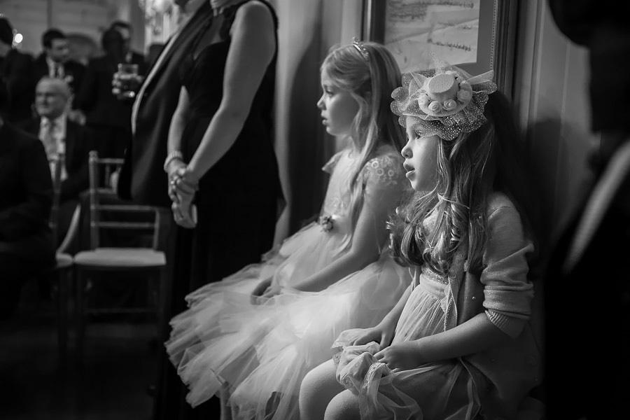 girls at the wedding