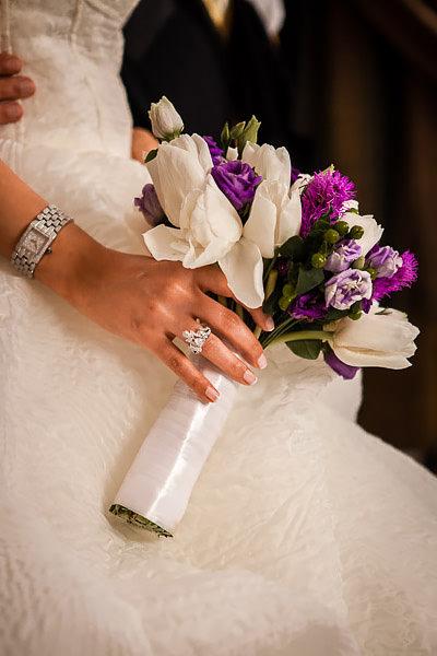 bridal bouquet details