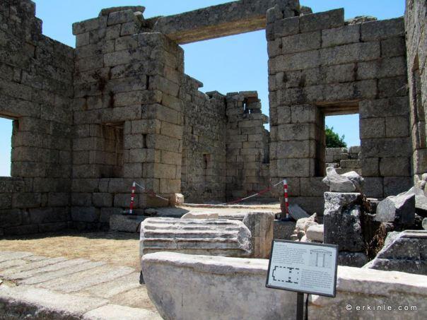 Zeus Tapınağı Labranda Milas