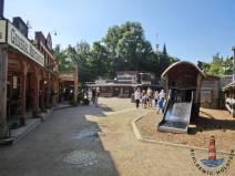Die Westernstadt im Hansapark ist dem Wilden Westen nachempfunden