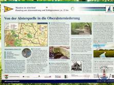 Infotafel zur Alsterquelle in Henstedt-Ulzburg