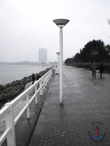 Travemünde Ostsee im Winter