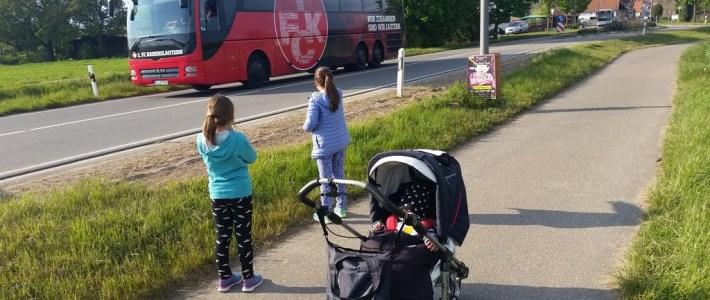 1. FCK kurzzeitig in Erlenbach