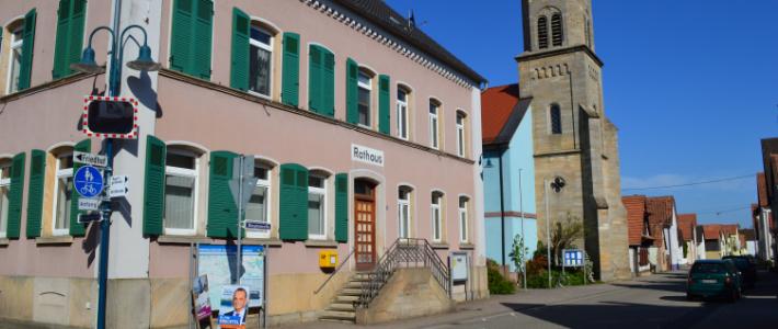 Hinweis zur Straßenreinigungspflicht in Erlenbach