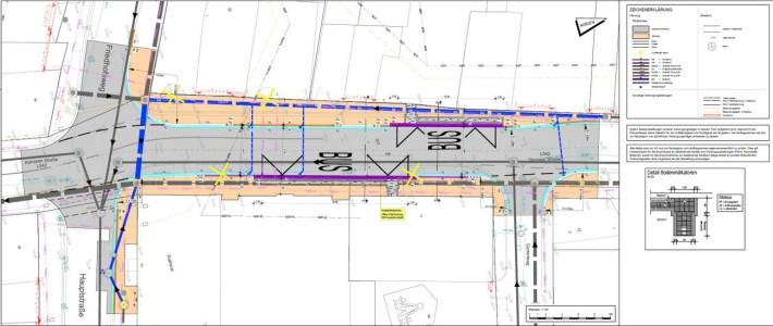 Sanierung der Ortsdurchfahrtstraße und Neubau der Bushaltestelle verschiebt sich!